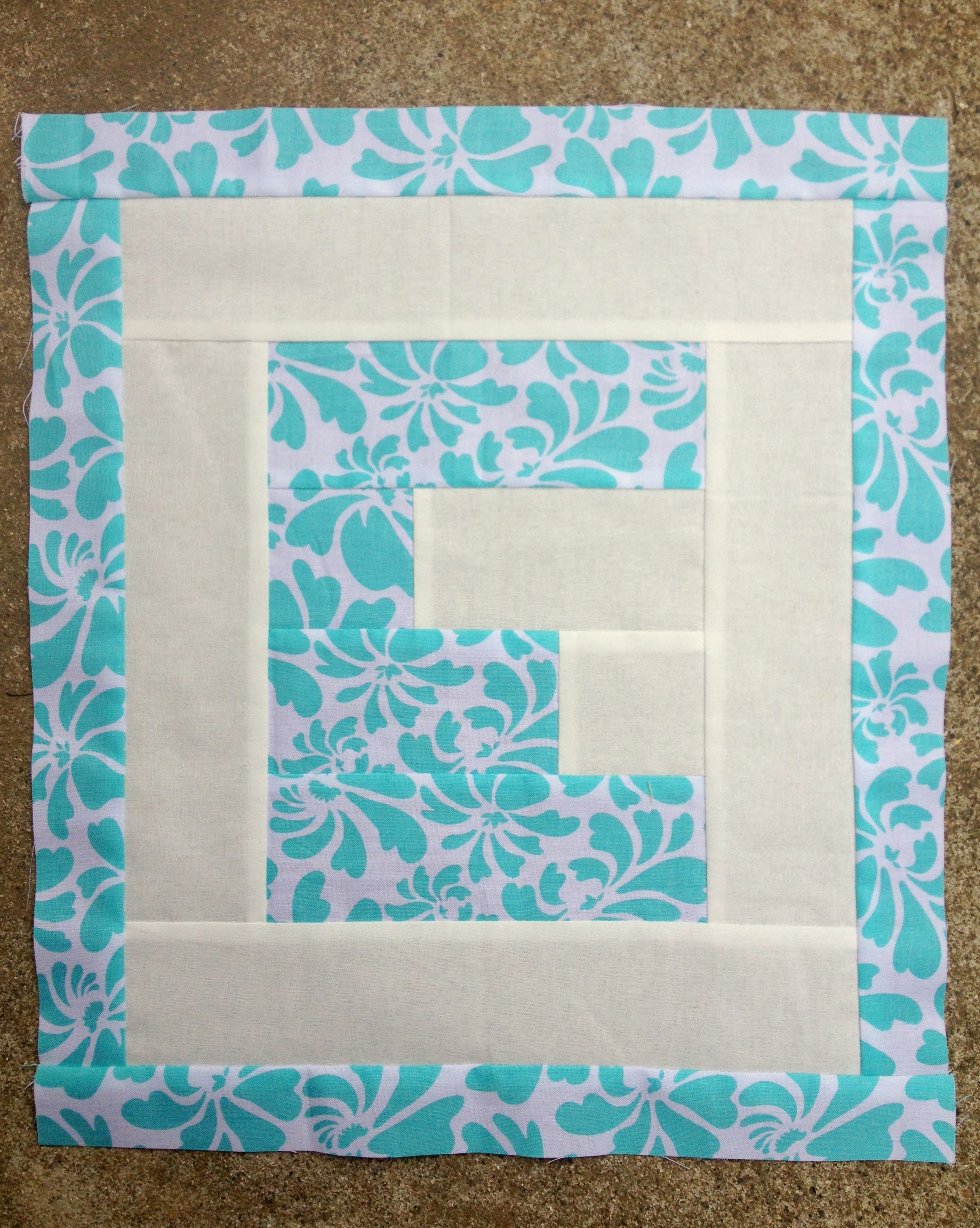 Easy As ABC QAL: Letter E Blossom Heart Quilts