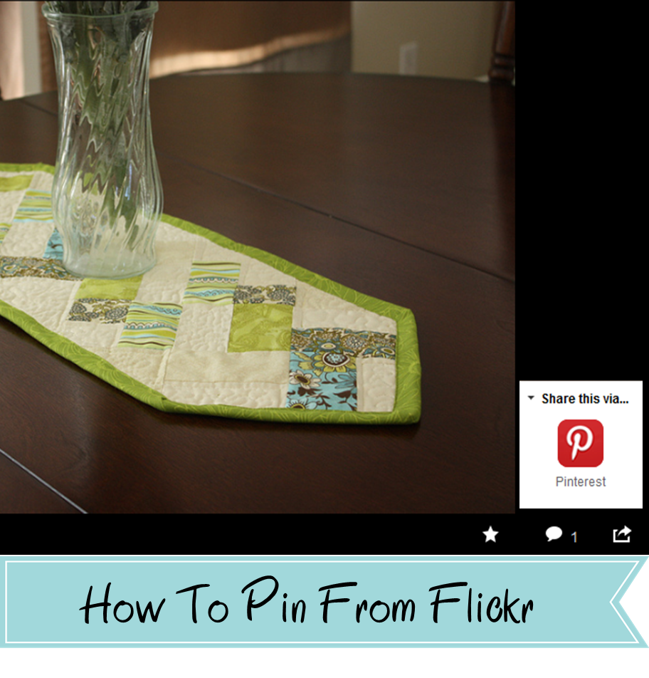 Gettin' Bloggy With It: How To Pin From Flickr