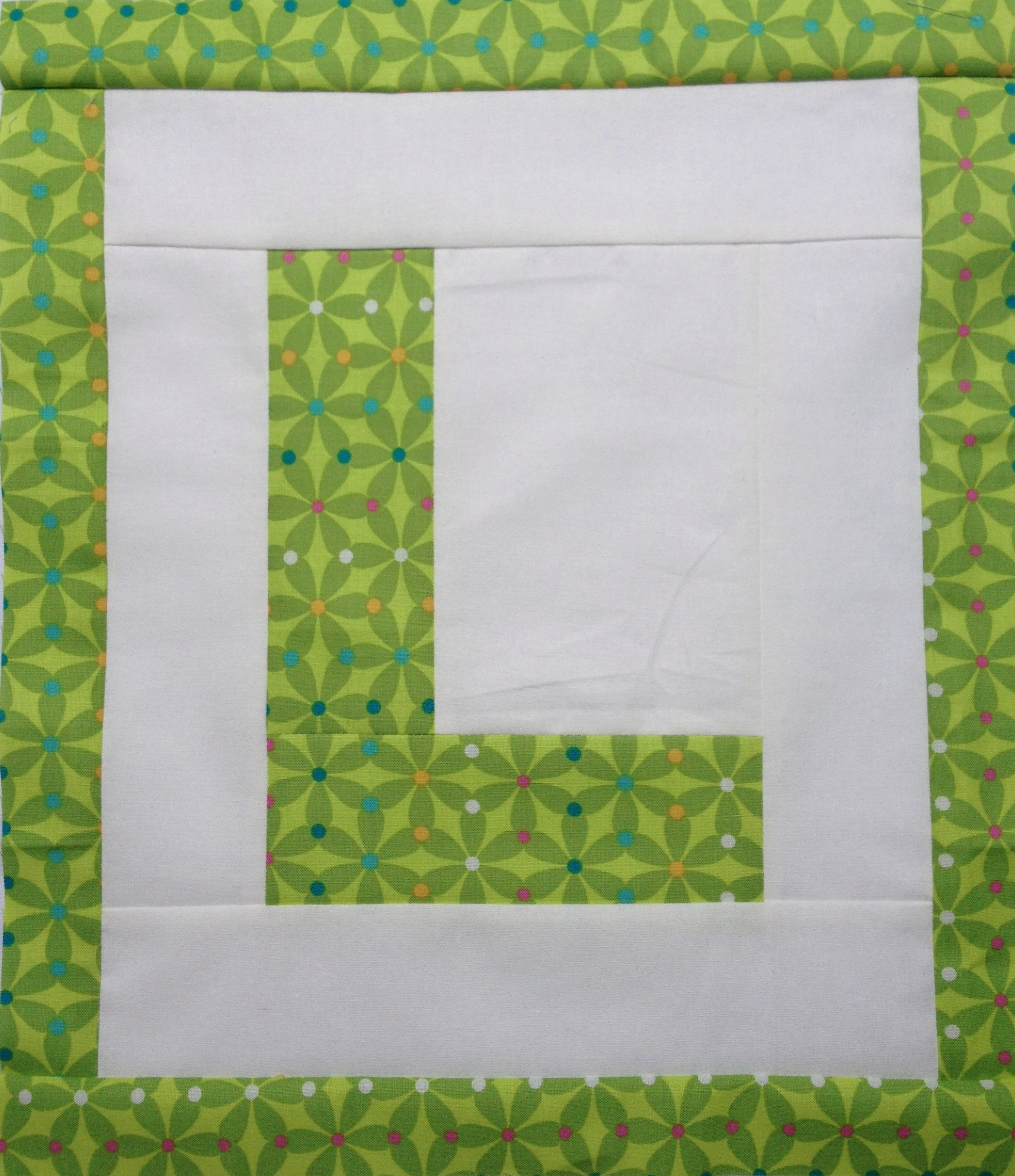 Easy as abc qal letter l blossom heart quilts letter l spiritdancerdesigns