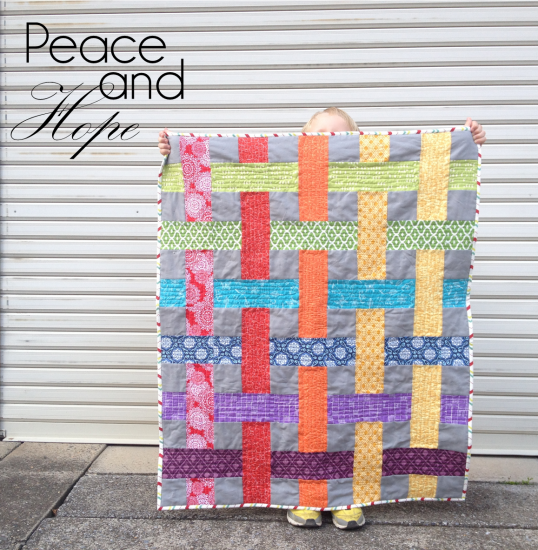 Peace And Hope quilt