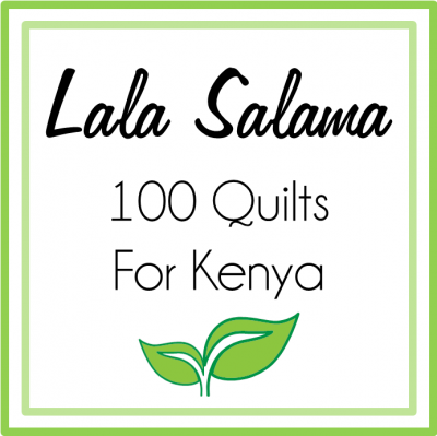 LalaSalama quilt for Kenya
