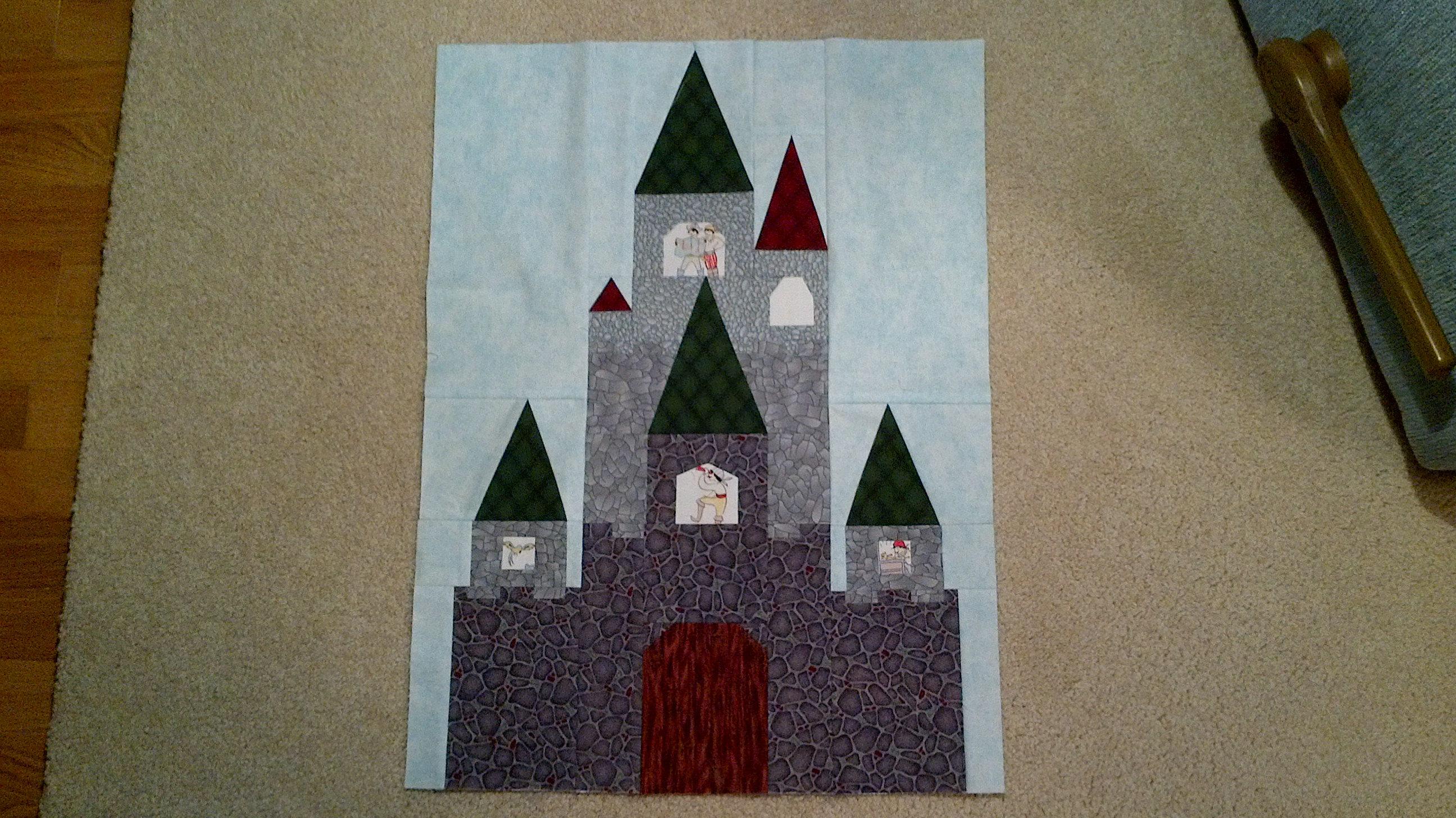 Fairy Tale Castle Pattern Now Available! | Blossom Heart Quilts : fairy tale quilt patterns - Adamdwight.com