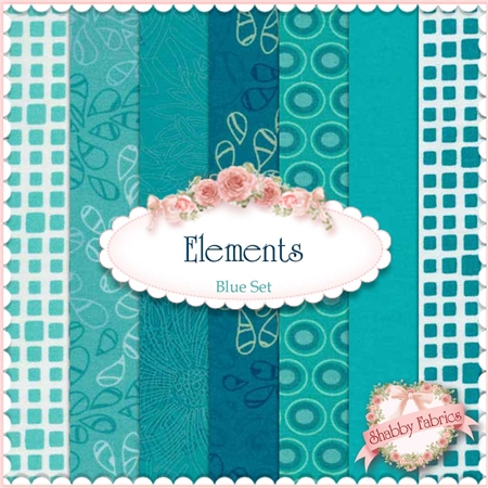 Blue Art Gallery Fabrics elements