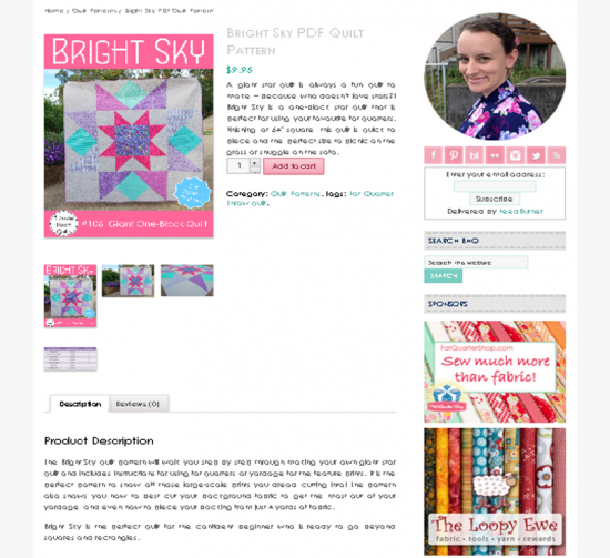 Blossom Heart Quilts patterns
