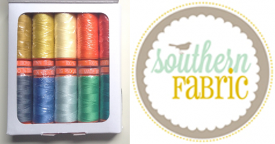 Second Prize Aurifil Southern Fabric