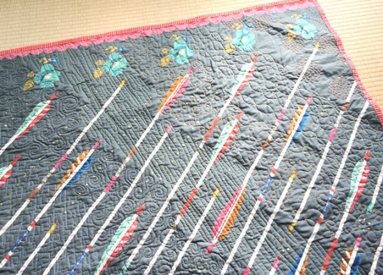 After The Rain quilting