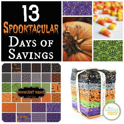 Halloween fabric sales