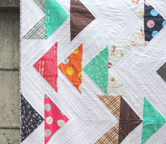 Lighthearted Kokka quilt
