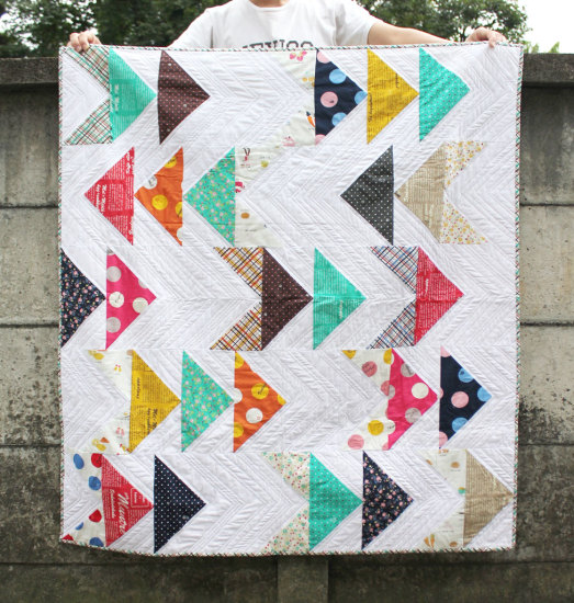 Lighthearted by Kokka quilt