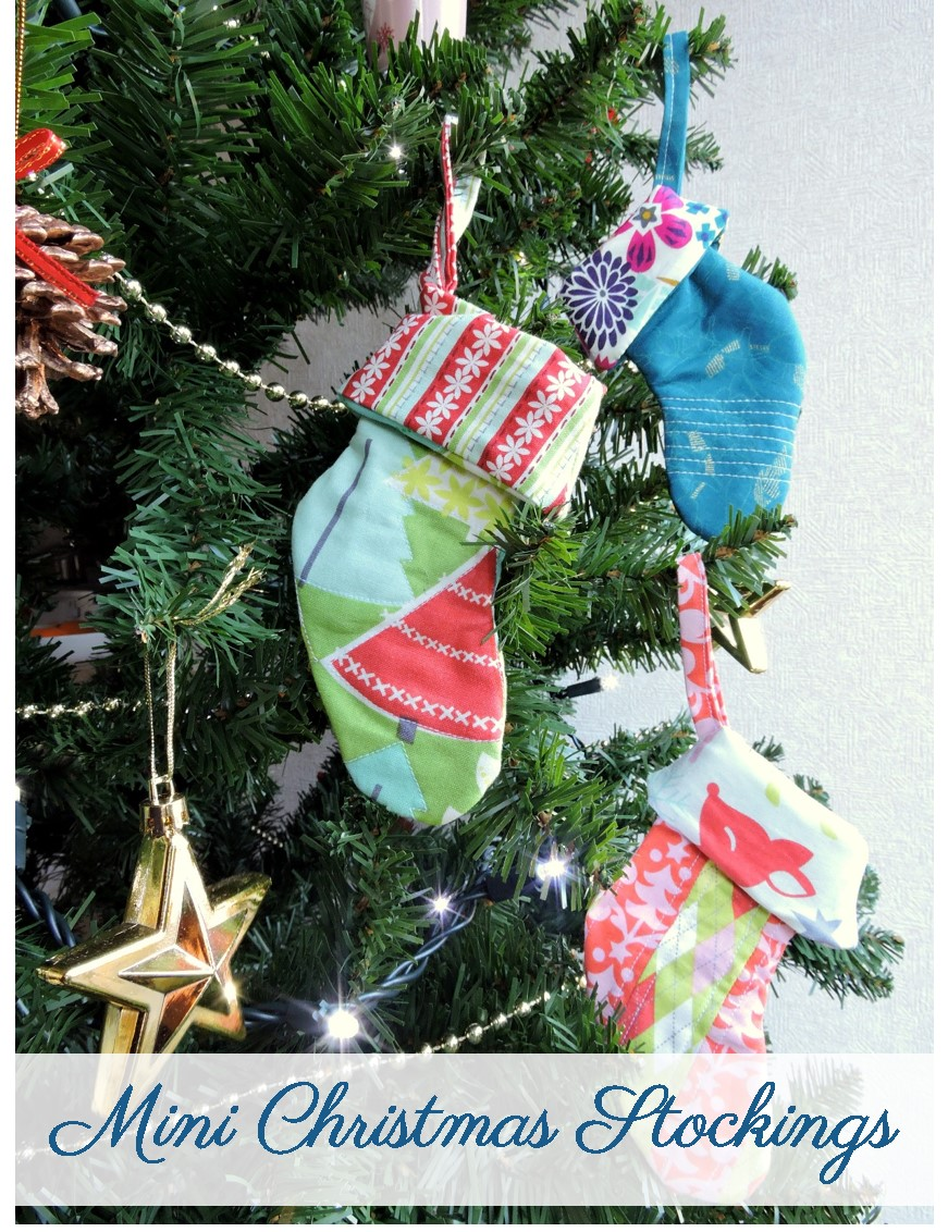 Mini Christmas Stockings Tutorial