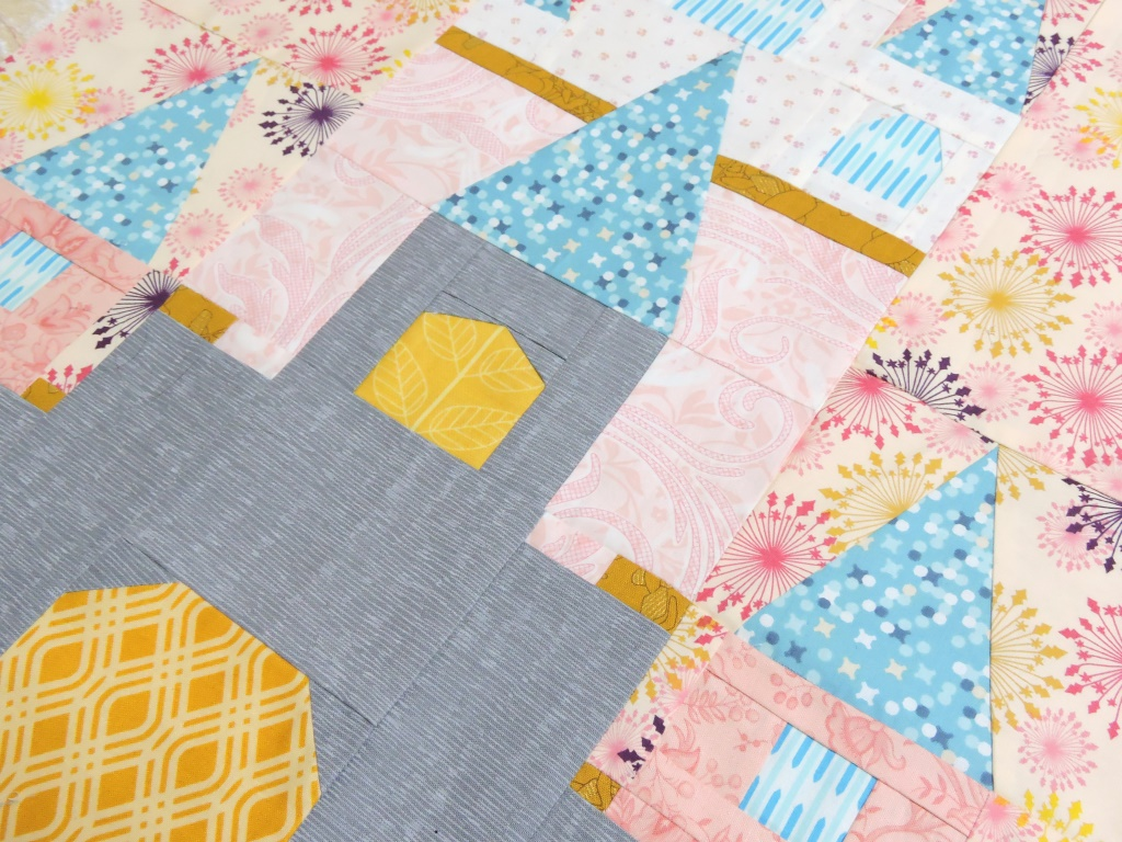 Final Sewing For The Year Blossom Heart Quilts