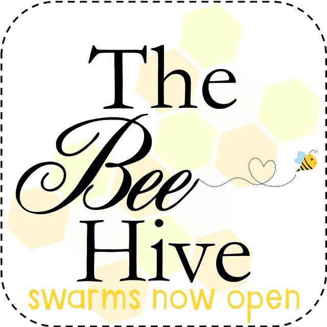 The Bee Hive swarms open