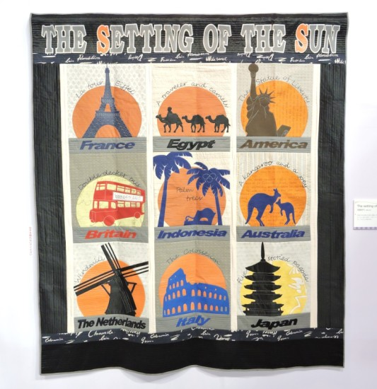 The Setting Of The Sun quilt