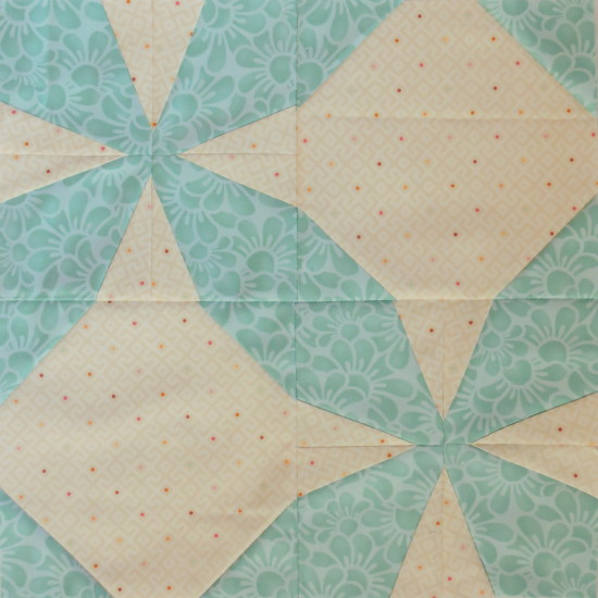 The Bee Hive quilt block