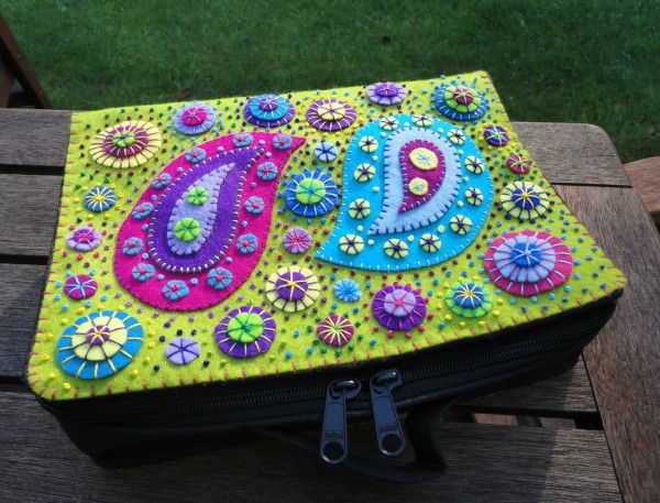 Paisley quilt