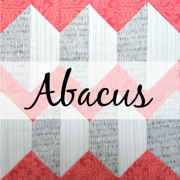 Abacus quilt block tutorial