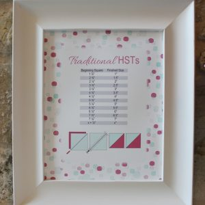 Blossom HST chart printable traditional