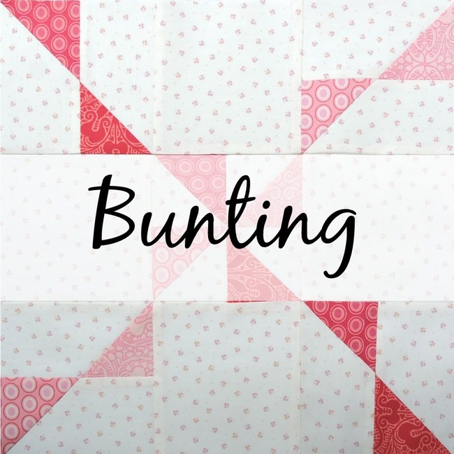 Bunting block tutorial