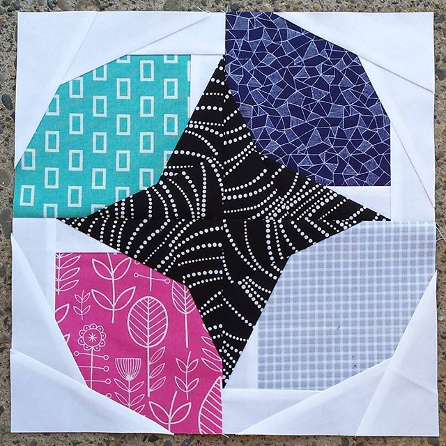 Busy quilt block nwpatchwork