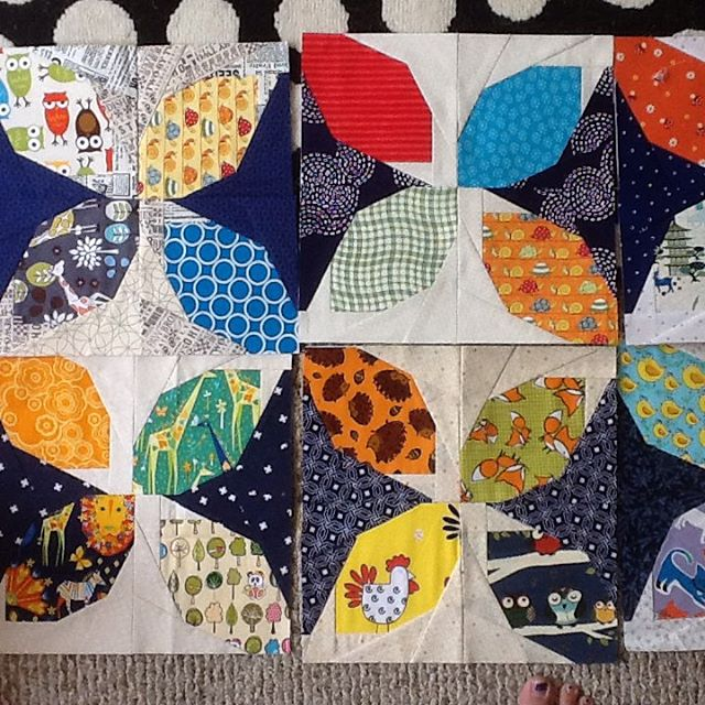 Busy quilt blocks rmicchia