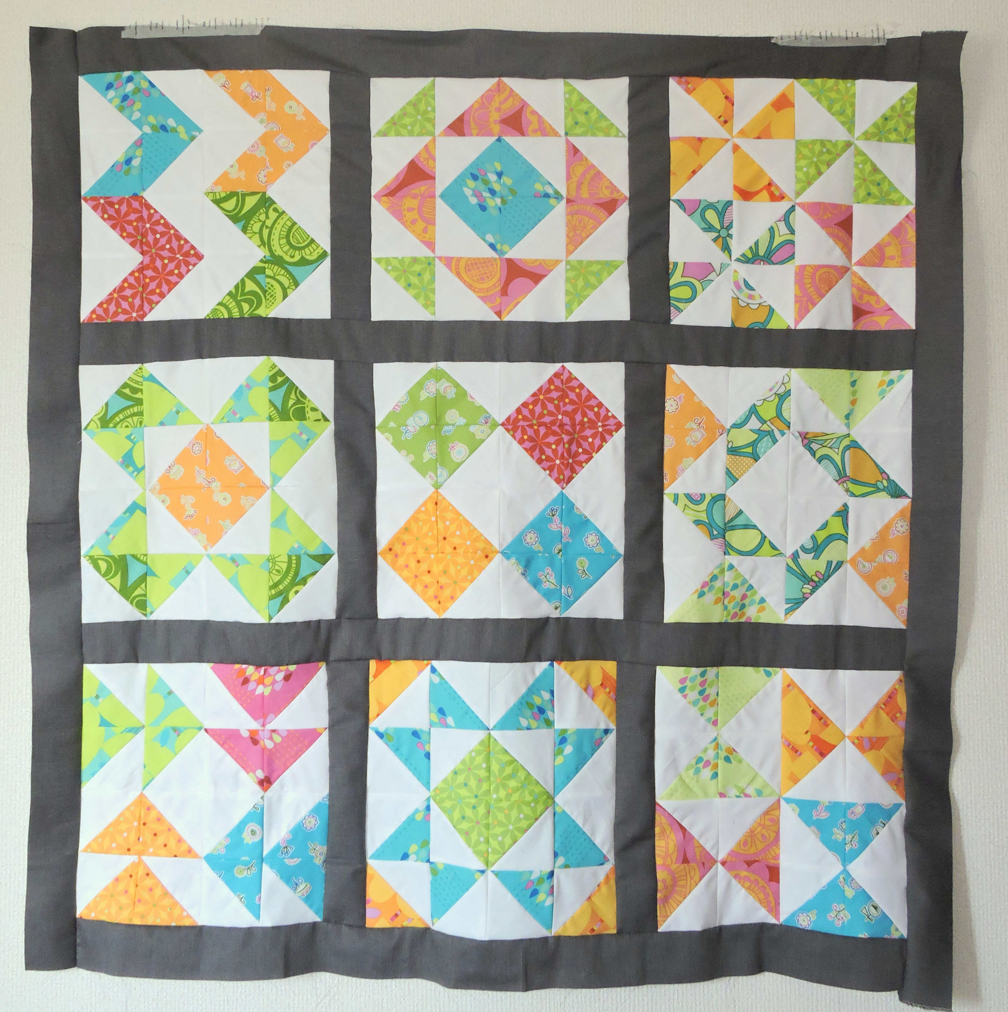 My Quilting Library: Patchwork Essentials: The Half-Square Triangle Blossom Heart Quilts