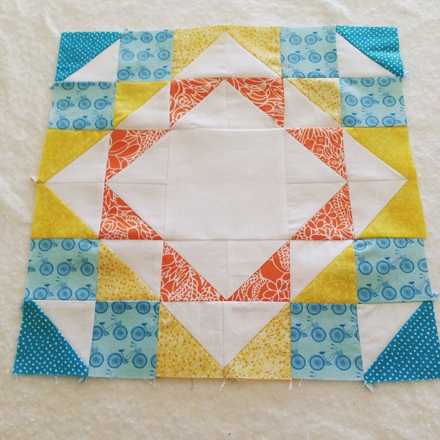 Ripples quilt block quilty_joyjoy