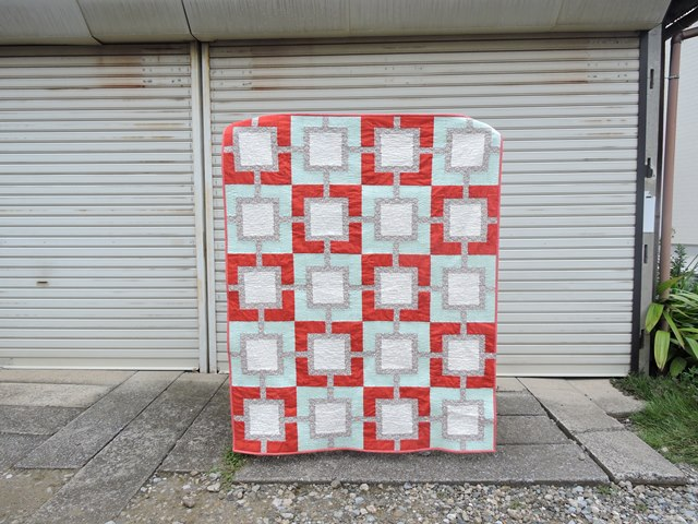 Pearl Gray quilt