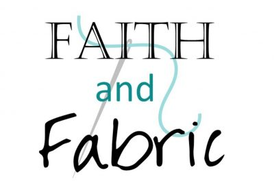 Faith and Fabric Button 3