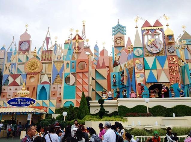 Its A Small World inspiration
