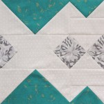 Alpine quilt block tutorial