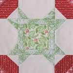 Christmas Star quilt block tutorial