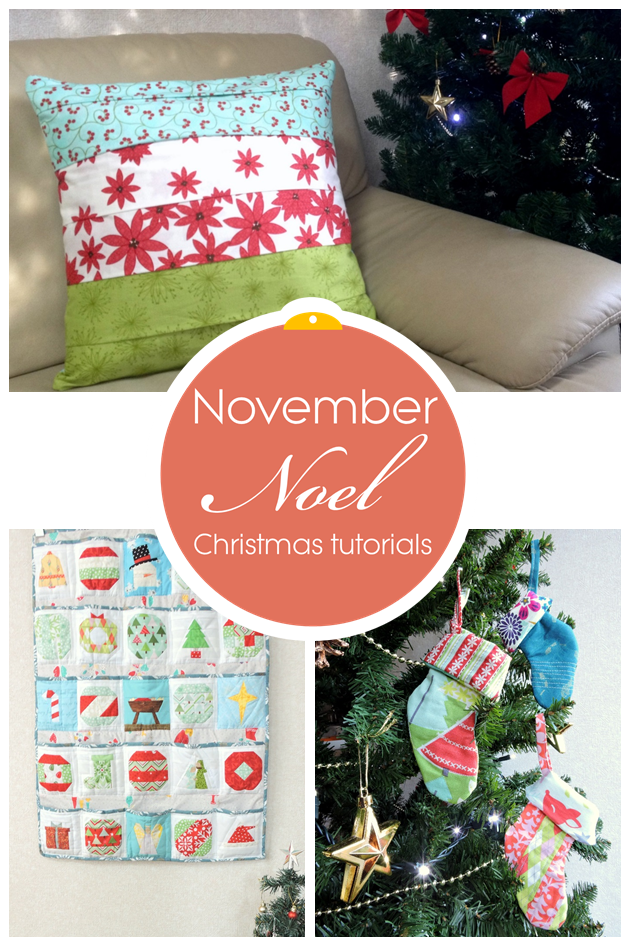 November Noel Christmas tutorials