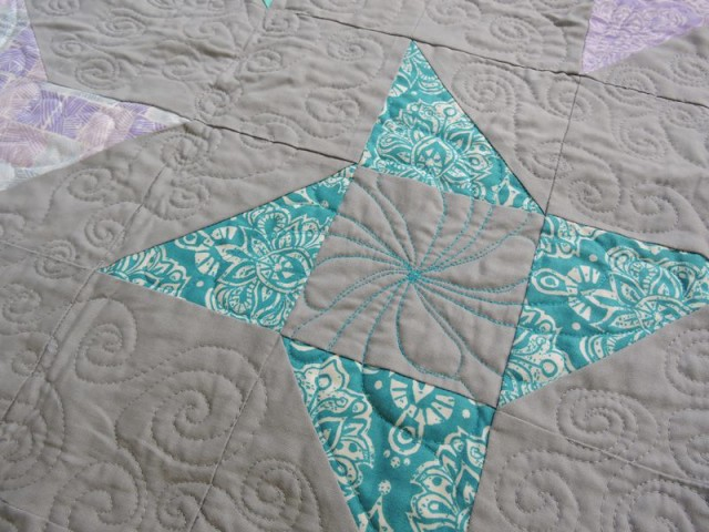 Aurora BOM friendship star quilting