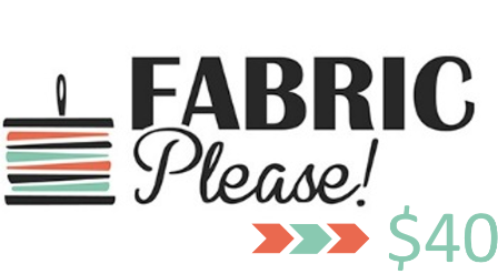Fabric Please voucher