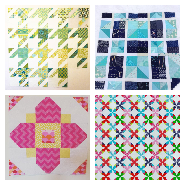 Bee Hive Quilts Jan blocks