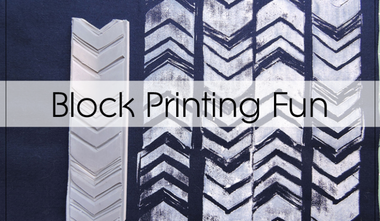 Learning Block Printing With Valori Wells