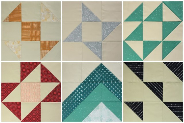 First 6 Modern HST Sampler blocks