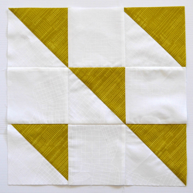 Formation quilt block tutorial Modern HST Sampler QAL