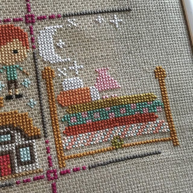 Once Upon A Time sampler progress 04-25