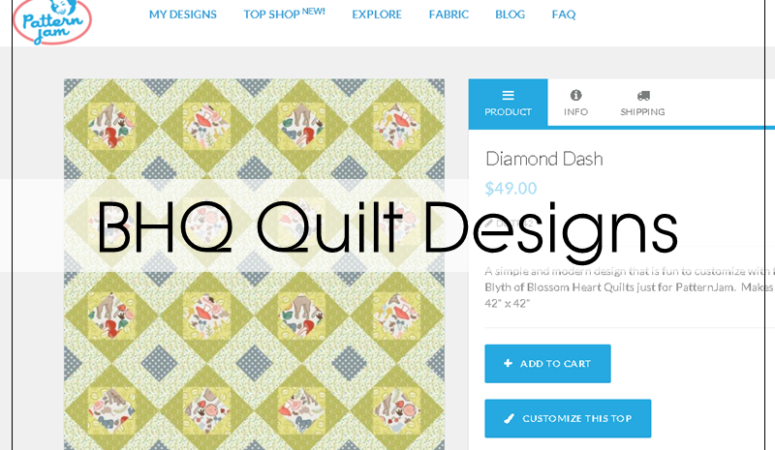 BHQ Quilt Top Designs – On Sale!