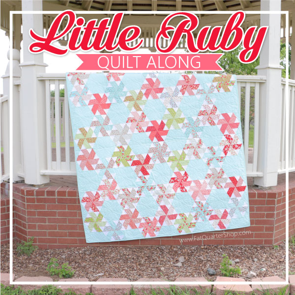 Little Ruby Quilt: DIY Jelly Roll