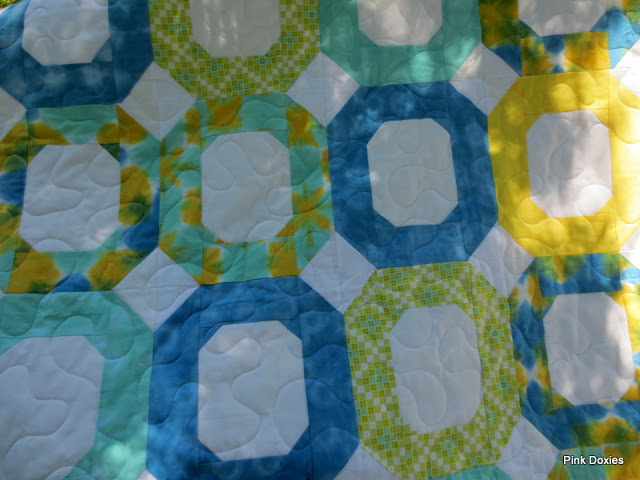 Sew Cute Tuesday: Pink Doxies | Blossom Heart Quilts : hand dyed fabric for quilting - Adamdwight.com