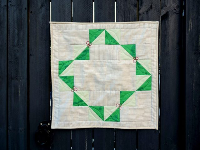 Garland quilting pattern
