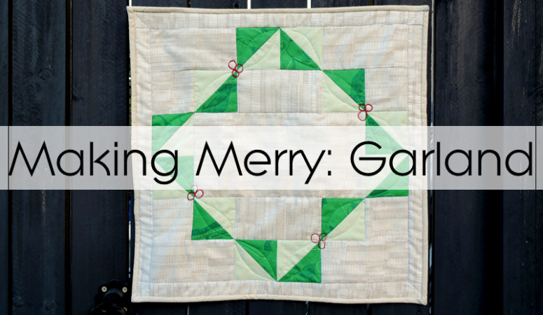 Sew Cute Tuesday: Garland Pattern Release