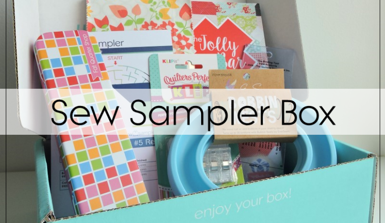 Sew Sampler Box: August