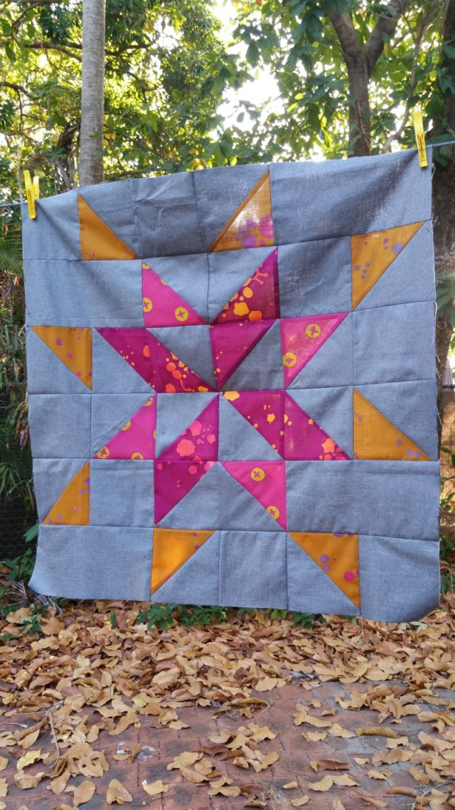 Starlight pattern tester Simone 24in block