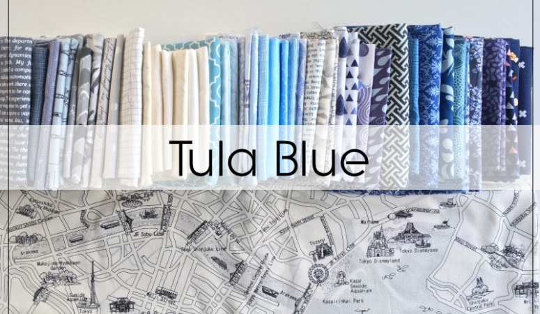 Tula Blue Quilt in 100 Days