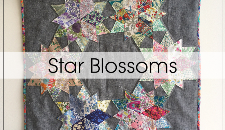 Star Blossoms: An EPP Liberty Mini Quilt