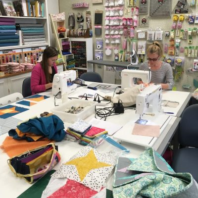 Modern quilting class in Melbourne