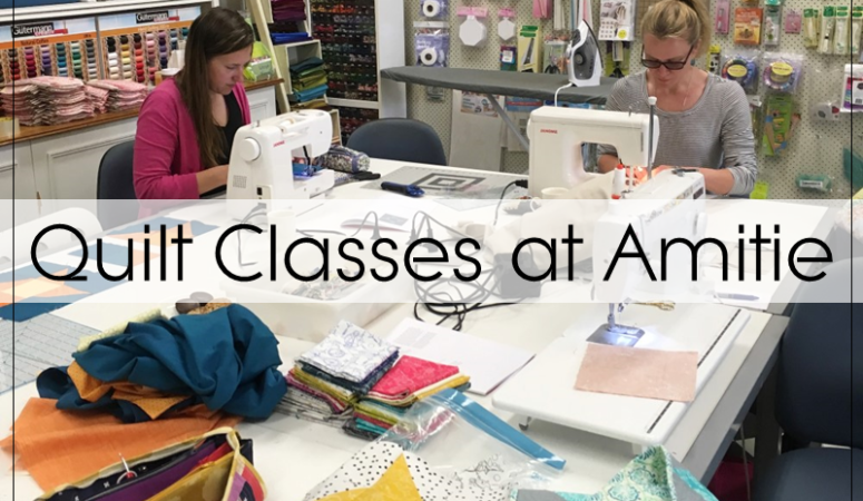 My Quilting Classes at Amitie